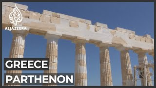 Greece Seeks Return Of Parthenon Marbles Amid Restoration Project
