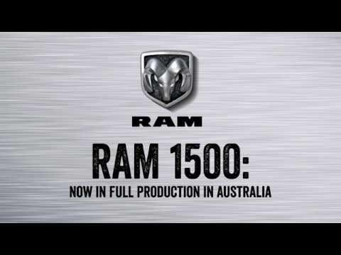 YouTube Video of the Ram 1500 Australia