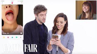 Aubrey Plaza and Dan Stevens Hijack a Stranger's Tinder | Vanity Fair - Video Youtube