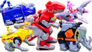 Power Rangers Zords Are Back! Rescue Children From Bad Guy - Toys Play Time