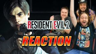 MAX REACTS: Resident Evil 2 Remake - BOTH Trailers