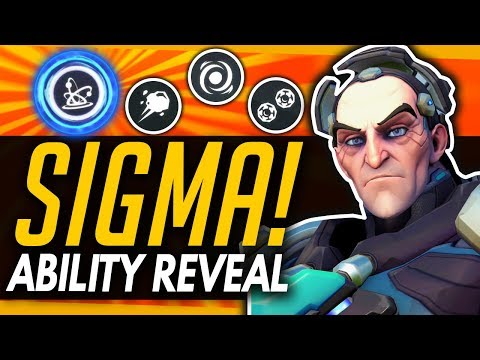 Overwatch | SIGMA ABILITIES REVEALED - Insane Ultimate!