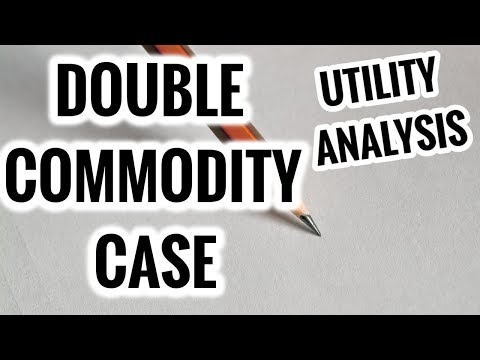 Consumer Equilibrium- Double Commodity Approach