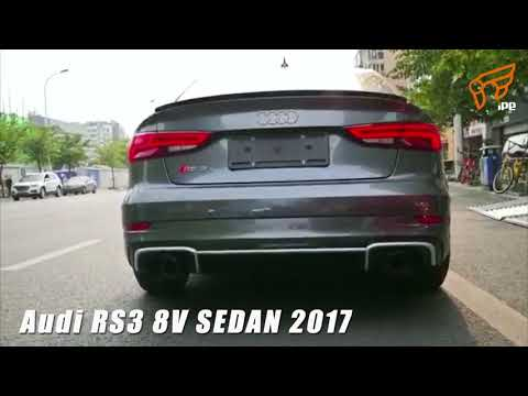 The iPE exhaust for Audi RS3 8V Sedan 2017