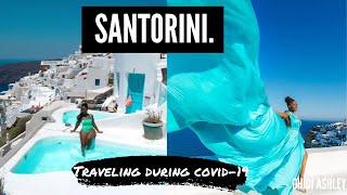 Santorini Greece Travel Vlog - Hotels, prices, things to do   Traveling during Coronavirus