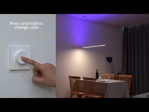 Yeelight Cystal Pendant Light with Yeelight Wireless Dimmer
