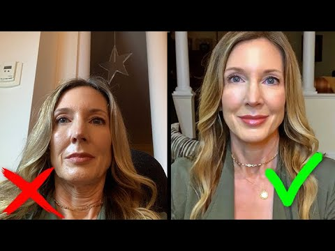 How To Look Good on Video Calls   Zoom FaceTime Skype   Blogger Secrets!