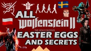 Wolfenstein II: The New Colossus All Easter Eggs And Secrets HD - dooclip.me