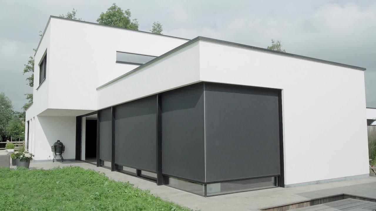 Panovista Max - Doekzonwering voor hoek(schuif)ramen