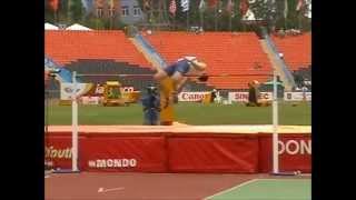 WYC Donetsk 2013 - Octathlon Hight jump - Jan Doležal 190cm
