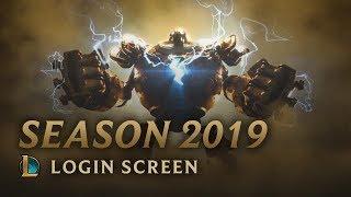 Season 2019   Login Screen - League of Legends