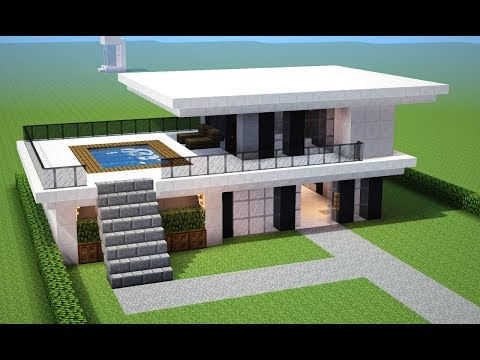 Search result youtube video casa minecraft for Casas modernas no minecraft