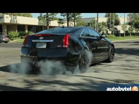 2014 Cadillac CTS-V Coupe Test Drive Video Review