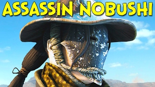 The Assassin Nobushi! - For Honor Beta