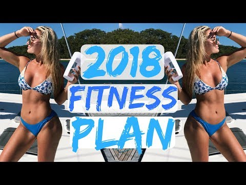 New Year New Me! my 2018 Fitness Goals II What I Eat In A Day & Weights Workout