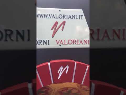 video 1, Four à pizza rotatif 120 bois/gaz
