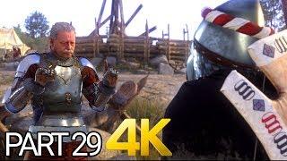 Kingdom Come Deliverance 4K Gameplay Walkthrough Part 29 ULTRA HD