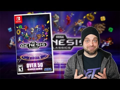 SEGA Genesis Classics Collection Switch REVIEW! | RGT 85