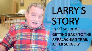 Larry's Story: Getting Back to the Swing of Things