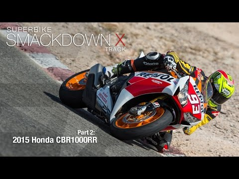 Honda CBR1000RR SP - Superbike Smackdown X Part 2 - MotoUSA