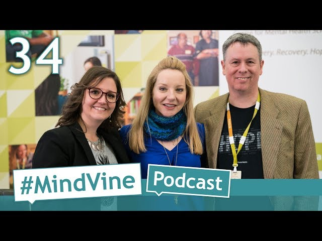 #MindVine Podcast Episode 34 - Bell Let's Talk Jessica Holmes