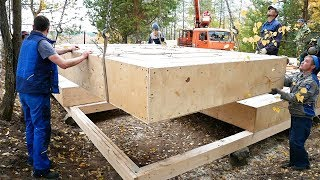 The Most Durable Straw House in 5 days DIY. Step by Step (Part 1)