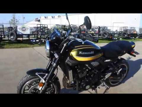 2020 Kawasaki Z900RS ABS in La Marque, Texas - Video 1