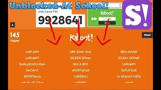 HOW TO SMASH KAHOOT!! *UNBLOCKED AT SCHOOL*