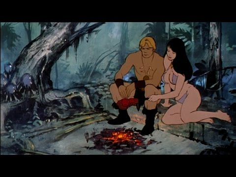 Fire & Ice Animated Cartoon Full Movie In English (1983) | Part 7/8