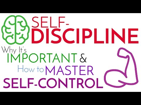 Self-Discipline   Why It's Important & How to Master Self-Control ...