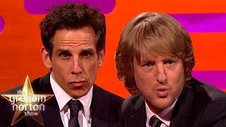 Ben Stiller's Blue Steel vs Owen Wilson's Blue Steel - The Graham Norton Show - Video Youtube