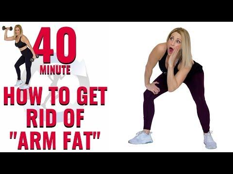 40 MIN ARM AND CARDIO HIIT | Burn Fat, Sculpt Arms!