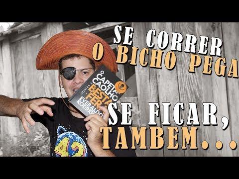 O CAPETA CAOLHO CONTRA A BESTA FERA de Everaldo Rodrigues ? | Alegria Literária