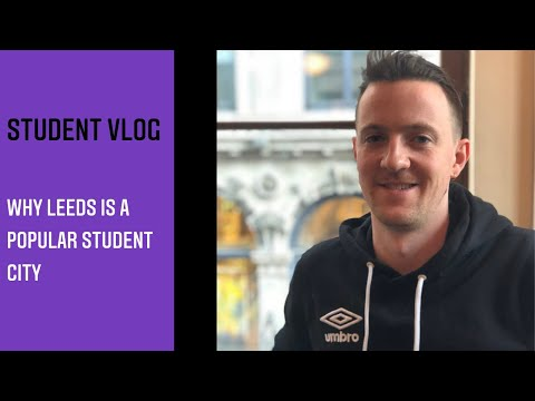 Video thumbnail of Why Leeds is a popular student city by Frank from USA