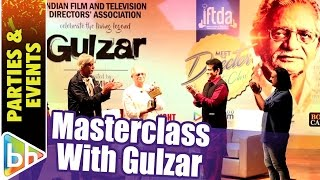 Glimpses from IFTDA MasterClass with Sudhir Mishra