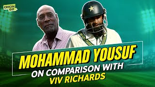 Mohammad Yousuf on comaprison with Viv Richards, modern-day cricket and his stellar season