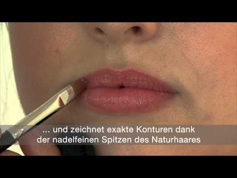 da Vinci Lippenpinsel - Make up Tutorial