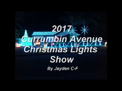 jayden - 2017 Currumbuin Avenue Christmas Lights