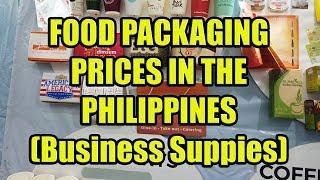 Food Packaging Prices In The Philippines (Business Supplies)