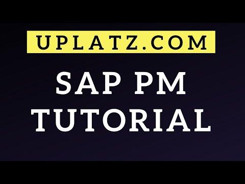 SAP PM Tutorial | SAP Plant Maintenance | SAP PM ... - YouTube