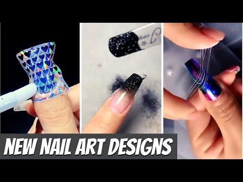 New Nail Art Designs Compilation # 1  New Nail Art 2021  The Best Nail Art Designs Compilation