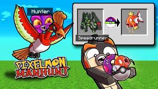 Manhunt PIXELMON Randomizer! (Speedrunner vs Hunter)
