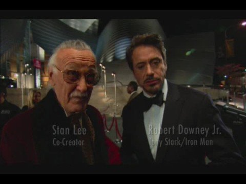 Stan Lee on Robert Downey jr. playing Iron Man