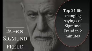 Sigmund Freud - Life changing quotes - Psychology quotes - whatsapp quotes