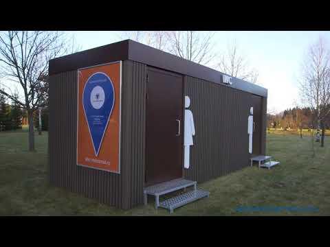 "Туалетные модули ""Страсбург"" и ""Будапешт"""