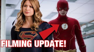 The Flash Season 7 and 8 Being Filmed BACK TO BACK? SUPERGIRL TOO? | Arrowverse News