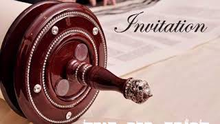Invitation a l'intronisation du Sefer Thora de Moche Rabenou le 21/02