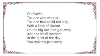 Chris Rea - Marvin Lyrics