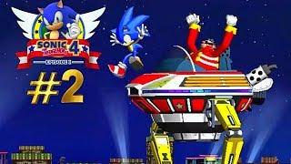 Sonic the Hedgehog 4: Episode 1. Chapter 2. Casino street zone and boss! Соник-ежик! 2 зона! Казино!