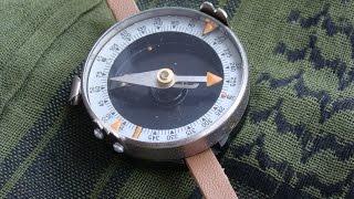 Как пользоваться армейским компасом